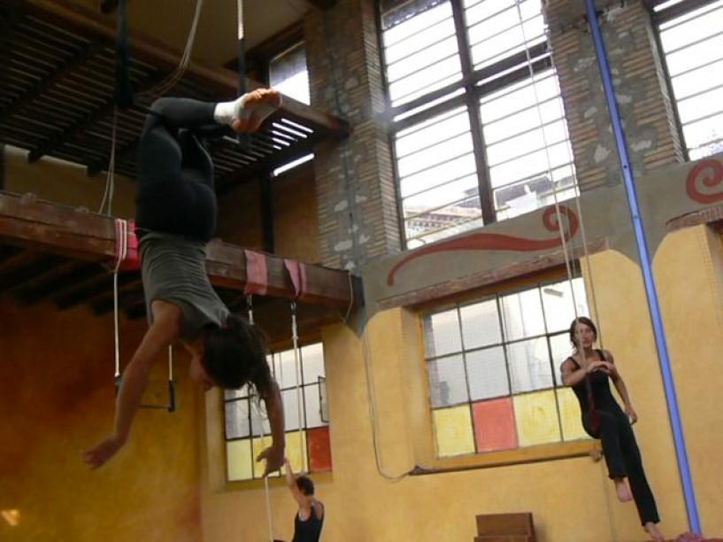 Stage adultes trapèze fixe et ballant Cercle de l'Ô